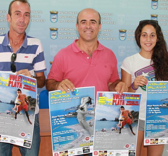 Almuñécar celebrara un circuito y  las 24 horas de Vóley Playa