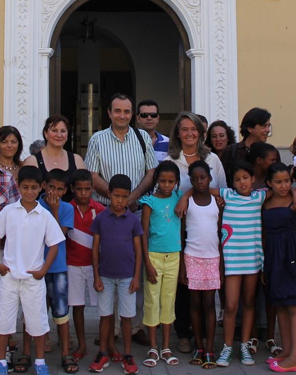 22 niños saharauis disfrutan del verano en Motril a través del programa 'Vacaciones en paz'