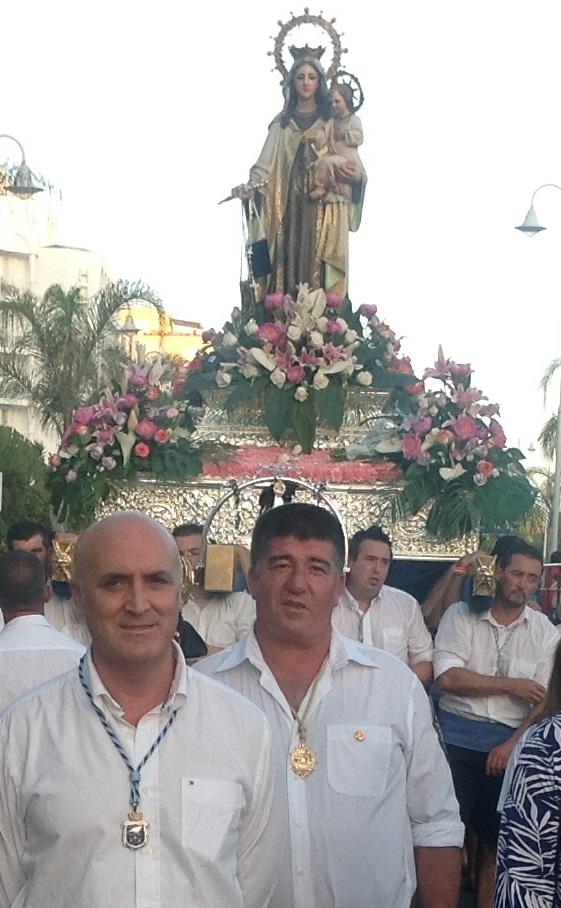 Almuñécar y La Herradura vivió con devoción la festividad de la Virgen del Carmen