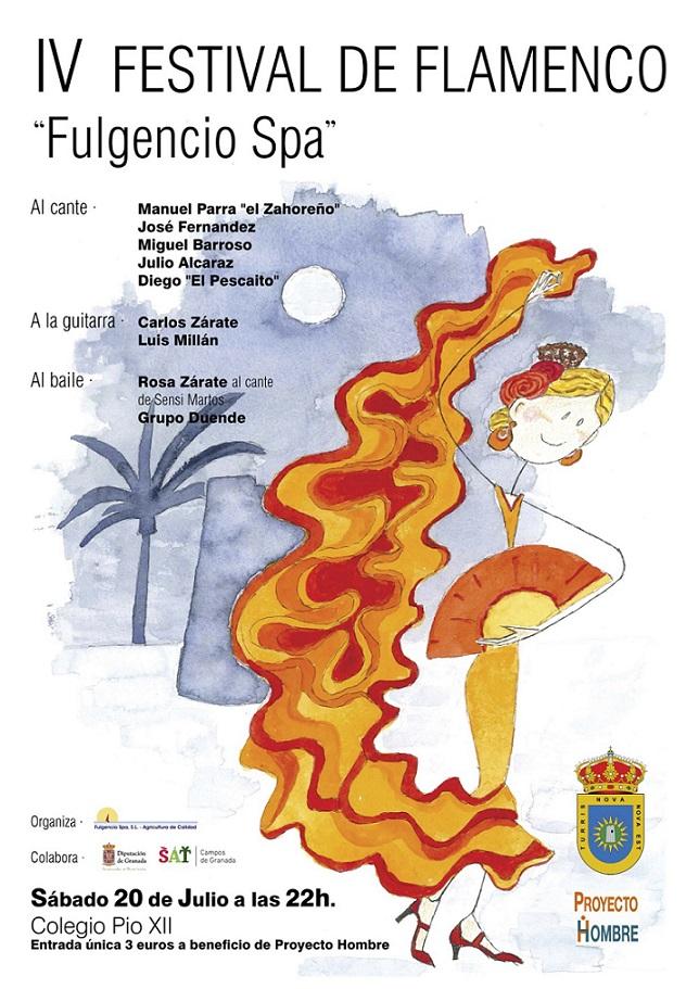 Torrenueva se viste de flamenco el sábado con el IV Festival 'Fulgencio Spa'