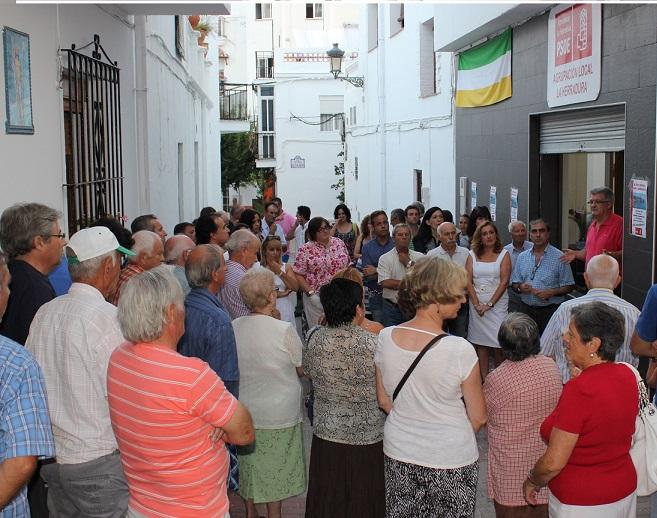 El PSOE abre su nueva sede en La Herradura, un 'espacio de encuentro' y 'oficina de atención abierta al ciudadano'