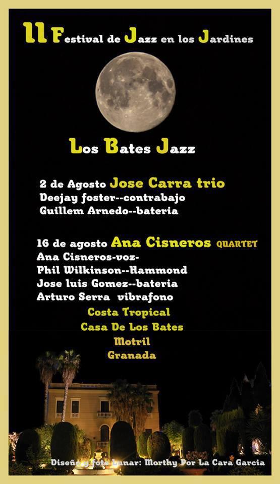 II Festival de Jazz en los Jardines de Los Bates de Motril