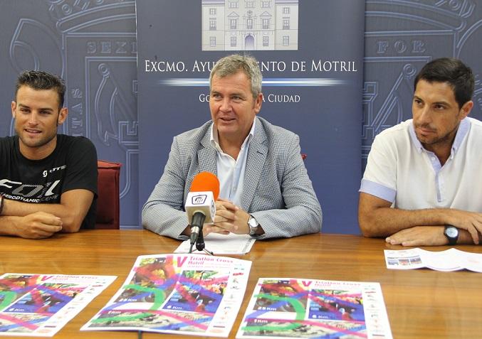 El Campeón del Mundo 2008, Rubén Ruzafa, participará en la V Triatlón-Cross 'Ciudad de Motril'