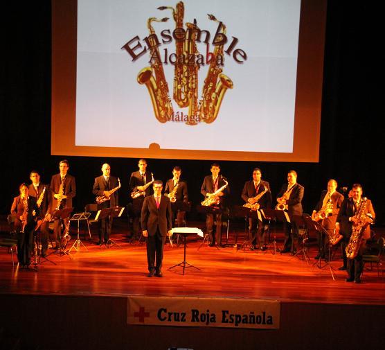 La Ensemble de Saxofones Alcazaba de Málaga se presenta este sábado en La Herradura