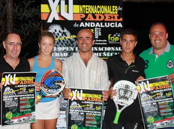 Almuñécar prepara el VIII Open Internacional  de  Pádel  y el  XV  Internacionales  de Pádel de Andalucía