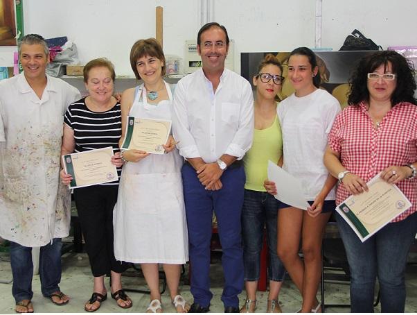 La Fábrica del Pilar sirve de inspiración para un curso de pintura
