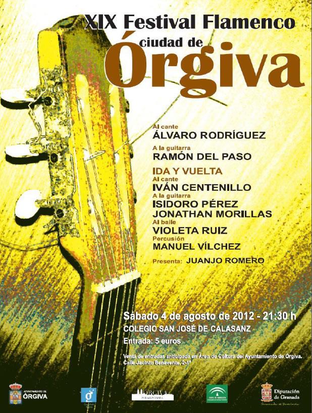 El Festival Flamenco Ciudad de Órgiva cumple su XX edición