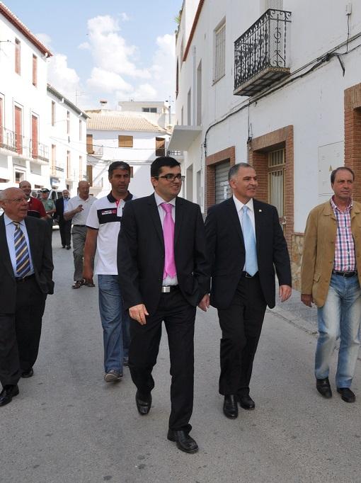 Los ayuntamientos de Cádiar y Lanjarón revisan sus principales proyectos