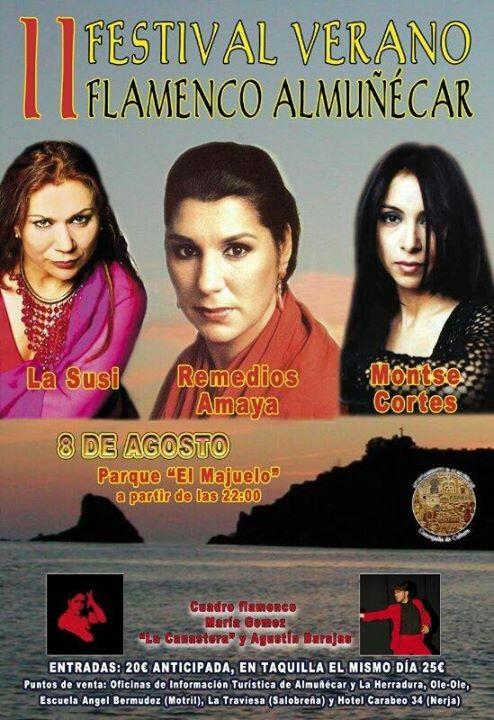 El II Festival Verano Flamenco presenta un gran cartel de artistas en Almuñécar