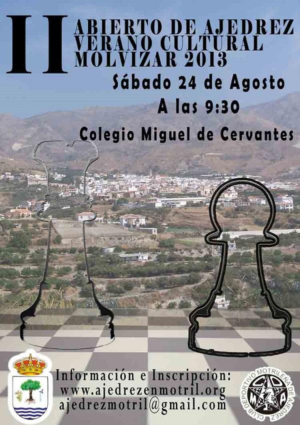 II Abierto de Ajedrez Verano Cultural de Molvízar