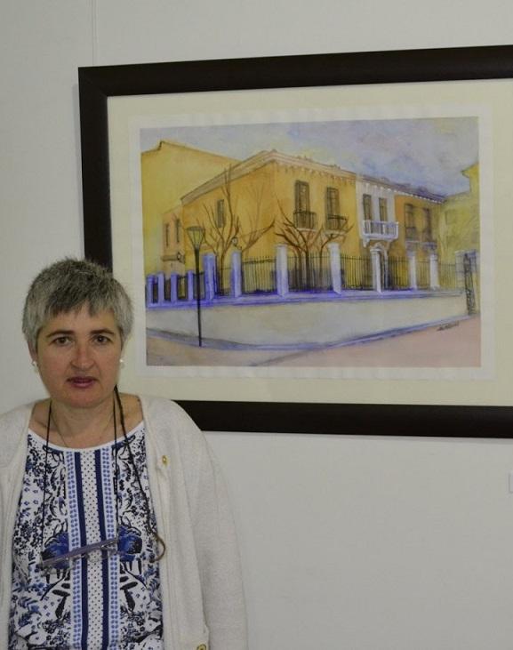 Mª Francisca Medina Puga expone en Castell de Ferro