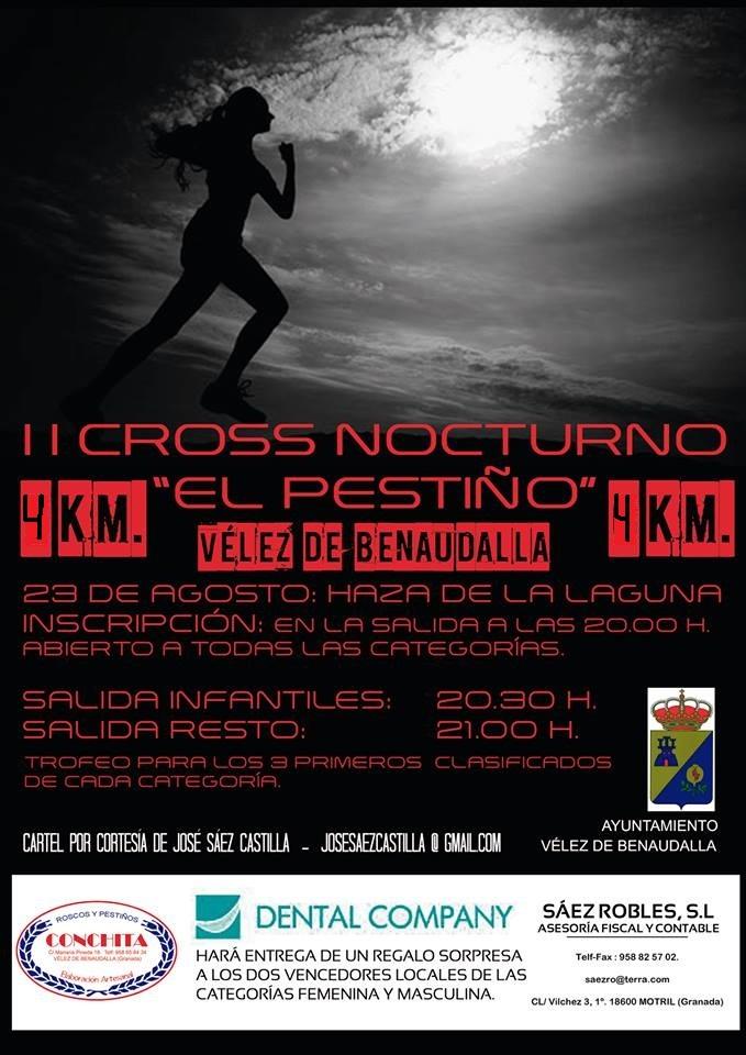 II Cross Nocturno El Pestiño de Vélez de Benaudalla