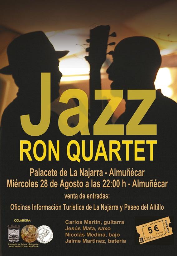 Jazz Ron Quartet actuará esta noche en La Najarra