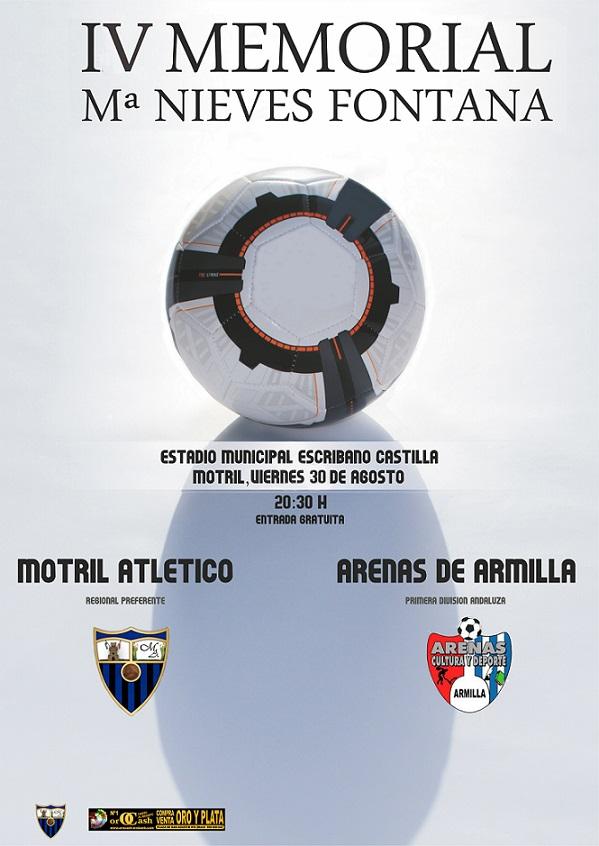El Motril At se enfrenta hoy con Arenas de Armilla en el Memorila Mª Nieves Fontana