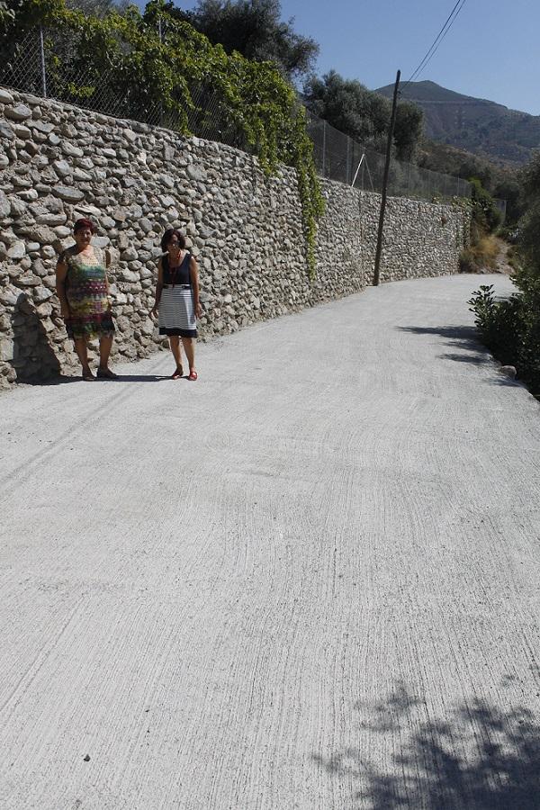 Los vecinos de Órgiva se implican en el arreglo de los caminos rurales
