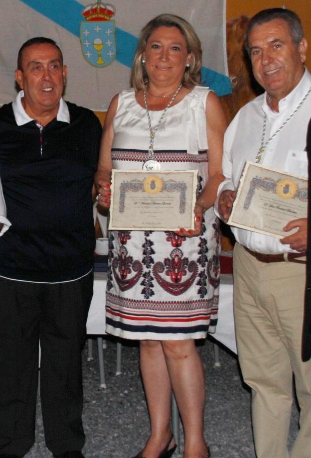 Los Amigos de Galicia en La Herradura entregaron los galardones de  2011 y 2012 a distintas personalidades