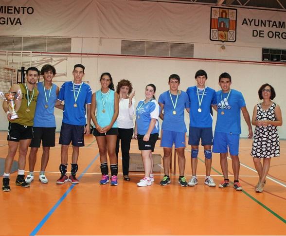 Órgiva cierra su VI edición del torneo de voleibol de verano