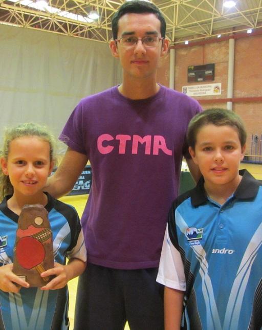 La almuñequera Lucia López se proclama campeona benjamin del Top Promesas 2013 de tenis de mesa