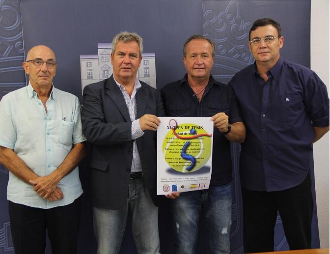El XI Open de tenis 'Ciudad de Motril' reunirá a los 32 mejores jugadores locales en categoría absoluta