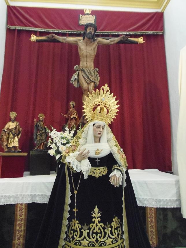 Este sábado finaliza el Triduo de la Santa Vera Cruz de Motril