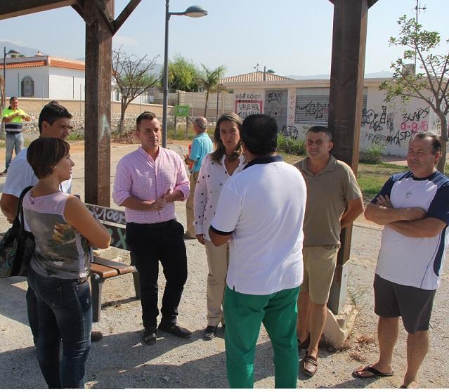 El Ayuntamiento de Motril acondiciona el parque 'Chaquetas' para uso y disfrute de todos los vecinos