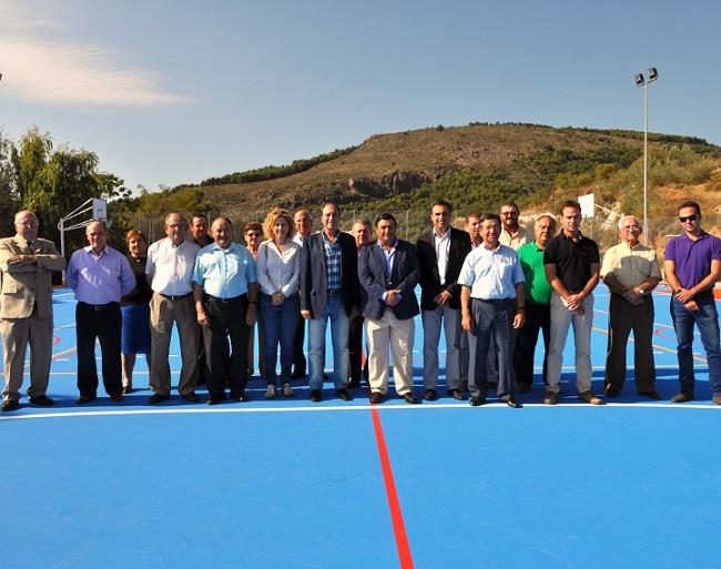 Diputación y Ayuntamiento de Murtas invierten 40.000 euros en la remodelación integral del polideportivo