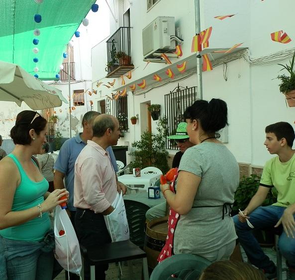 Comienzan  las fiestas del barrio del San Miguel de Almuñécar