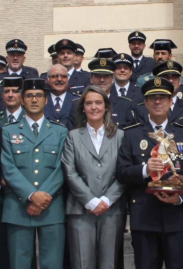 La Policía Local de Motril celebra a su patrón otorgando honores y distinciones a los miembros del Cuerpo