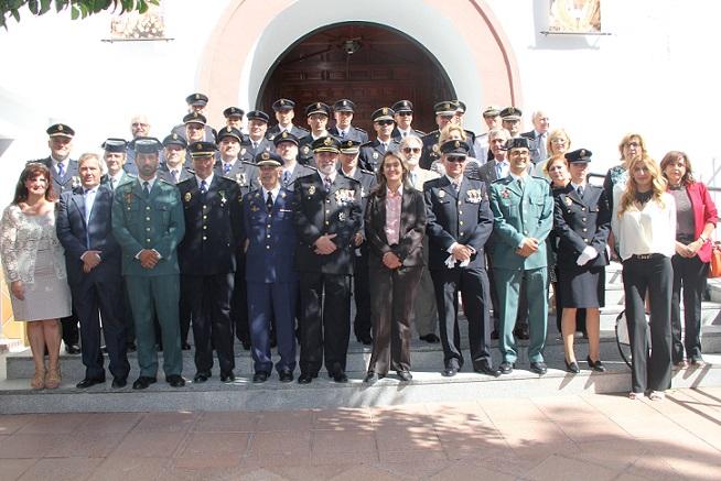 El Ayuntamiento de Motril acompaña a la Policía Nacional en la celebración del día de su patrón