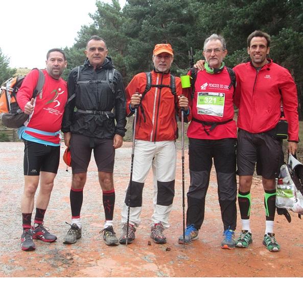 El Club de montaña Moscaril y el C.A. Almuñécar en la Ultra Trail Sulayr de 57,5 Km.