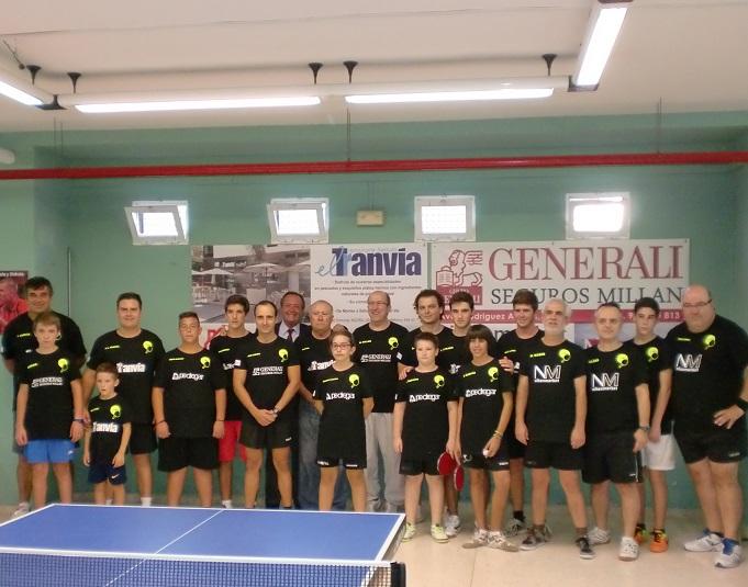 Vencieron todos los equipos de Tenis de Mesa del Circulo Recreativo de Motril