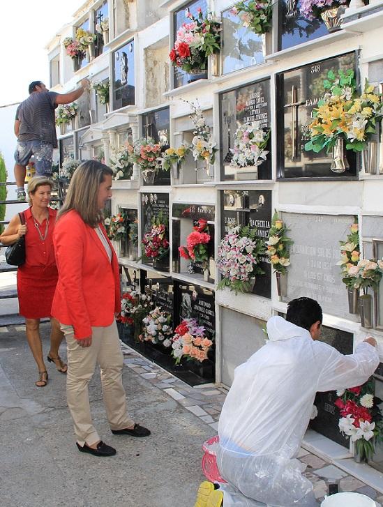 El Ayuntamiento de Motril remodela una sala del cementerio para uso administrativo