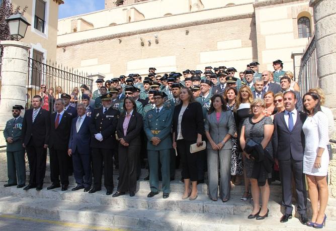 Motril celebró el Día de la Fiesta Nacional con el izado de la bandera española