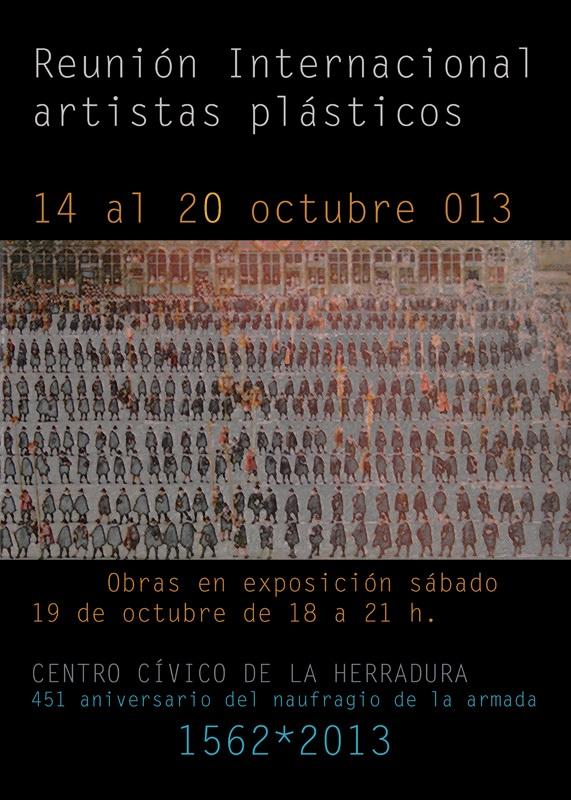 La Herradura acoge esta semana una reunión internacional de artistas plásticos