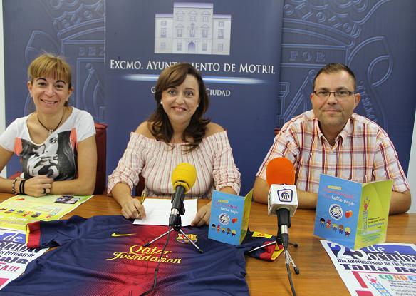 Motril celebra el día mundial de las personas con acondroplasia