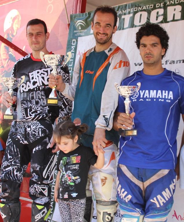 El sexitano Francisco M Alonso (en MX1 Aficionado)    ganó la carrera de motocross Ciudad de Almuñécar