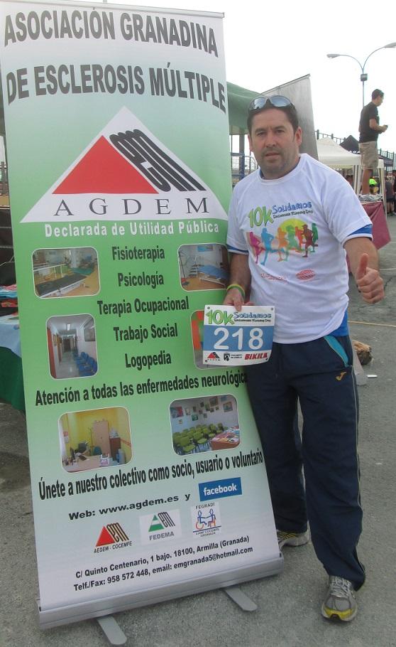 El Club Atletismo Almuñécar participo los 10km. Solidarios 'Esclerosis Running Day'