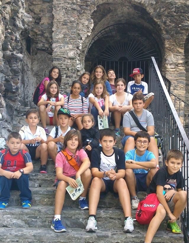 Una treintena de alumnos del colegio motrileño Cardenal Belluga conocieron el patrimonio sexitano