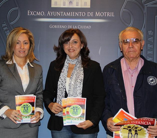 El VI premio a favor de la Infancia reconocerá la labor de entidades motrileñas a favor de los derechos de los niños