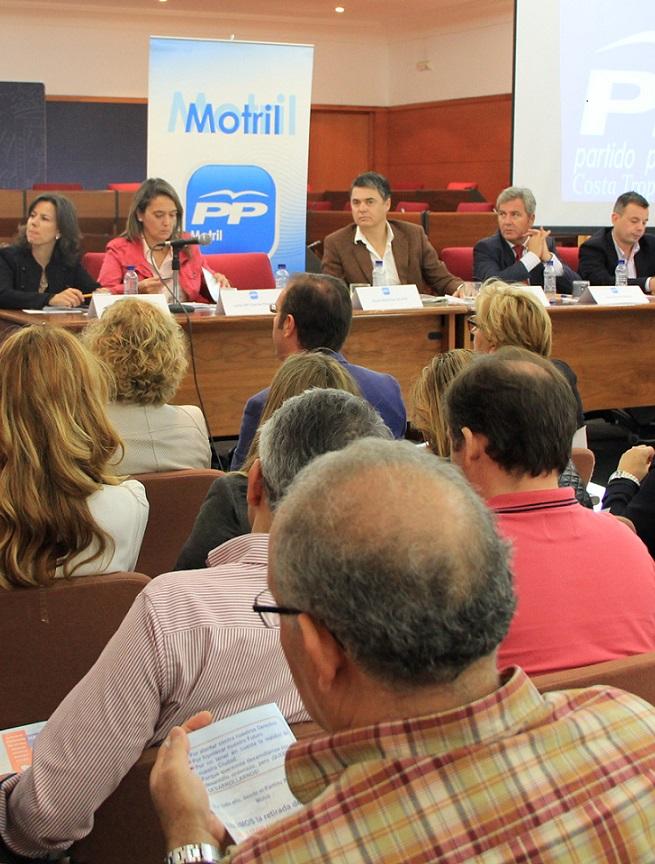 El PP-Andaluz muestra su rechazo al Plan del Litoral de la Junta de Andalucía el cual supone un castigo para el desarrollo de la Costa Tropical