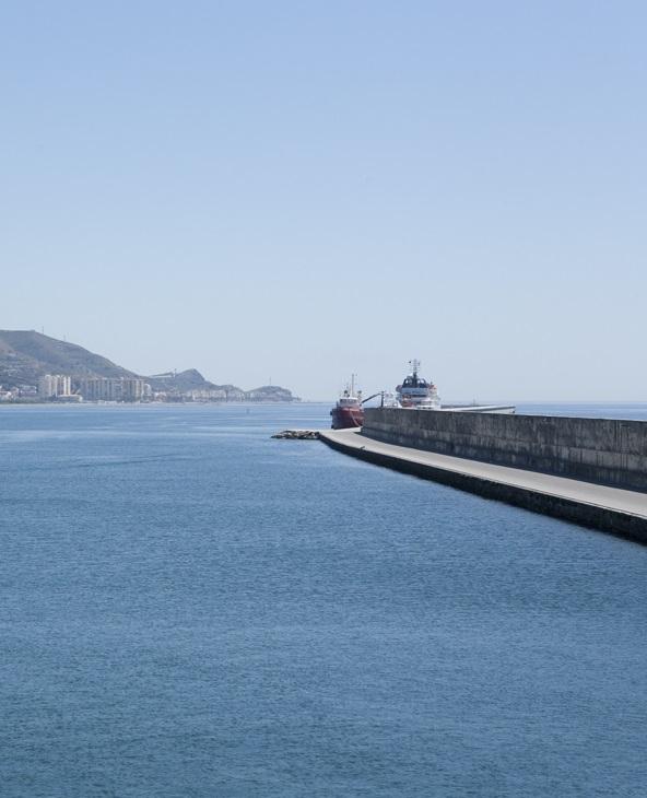El Puerto adjudica a la UTE Dragados-Drace la prolongación del dique de abrigo por un importe de 11,9 millones de euros