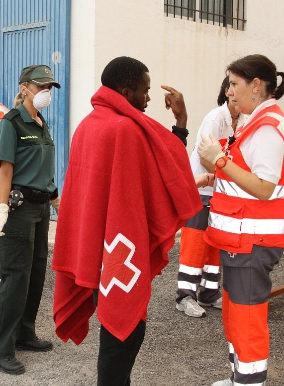 Rescatados 42 inmigrantes en el mar de Alborán