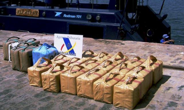 Intervienen 1.500 kg de hachís en Motril y detienen a ocho narcotraficantes, algunos afincados en Badajoz