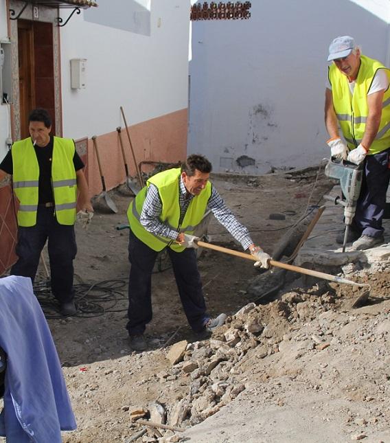 La Herradura rehabilita  la zona sur de la calle Obispo en el casco antiguo
