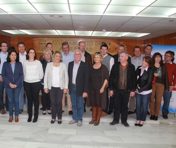 La alcaldesa de Almuñécar informa sobre  las jornadas formativas y laborales entre Almuñécar y Fürstenfeldbruck