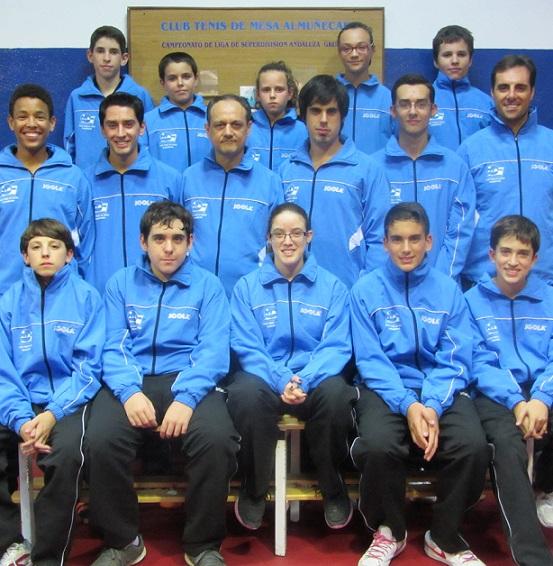 El CTM Almuñécar cosecha dos victorias y dos derrotas en su última jornada de liga