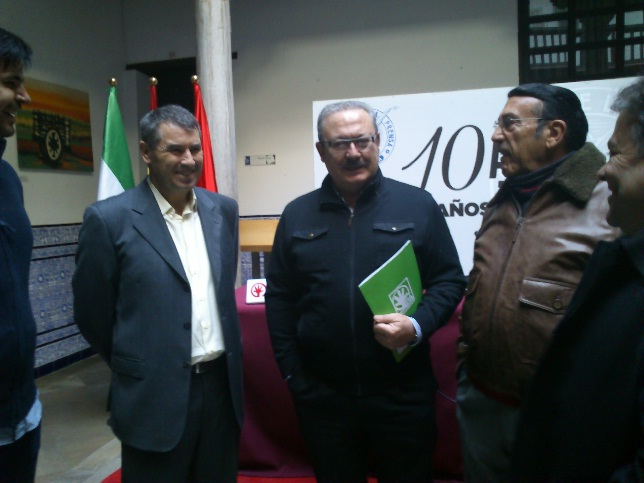 Incorporación de Luis Rubiales al Partido Andalucista