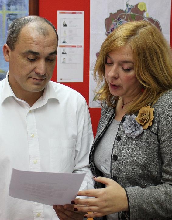 El PSOE pedirá la concesión de la 'Medalla de Oro de la Ciudad' para Aprosmo