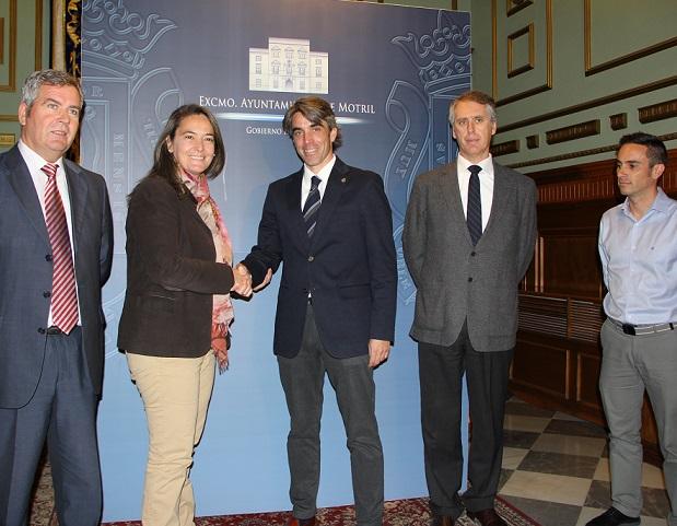 """Motril facilita una """"subsede"""" al Colegio de arquitectos técnicos de Granada para la atención a ciudadanos y profesionales"""