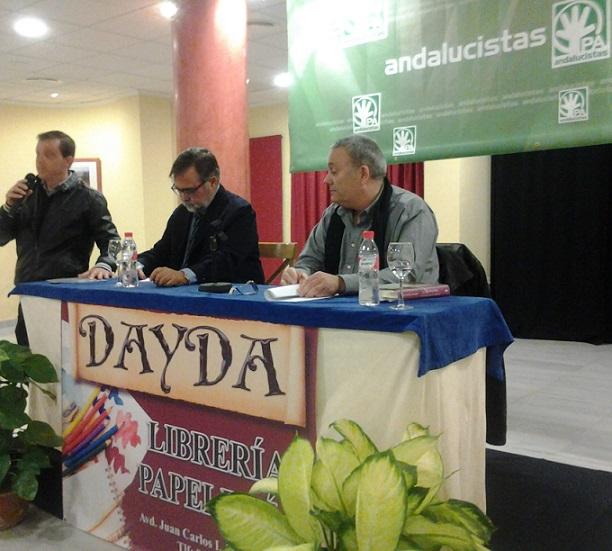José Calvo Poyato presentó su libro sobre Mariana Pineda. en un acto organizado por el PA sexitano